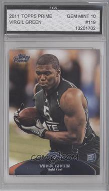 2011 Topps Prime - [Base] - Retail #119 - Virgil Green [ENCASED]
