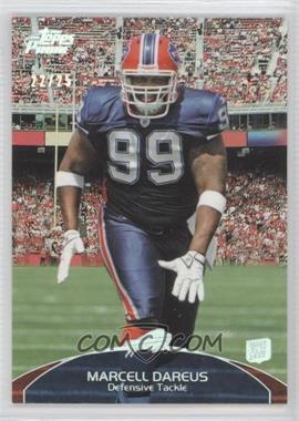 2011 Topps Prime - [Base] - Silver Rainbow #56 - Marcell Dareus /25