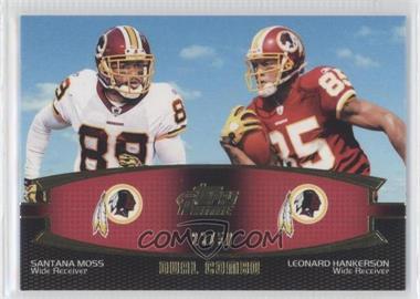 2011 Topps Prime - Dual Combo - Gold #DC-MH - Santana Moss, Leonard Hankerson /50