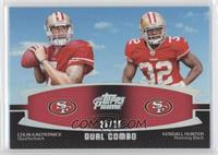 Colin Kaepernick, Kendall Hunter /25