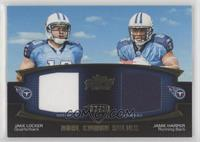 Jake Locker, Jamie Harper /50