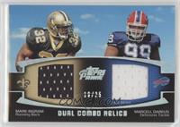 Mark Ingram, Marcell Dareus /25