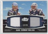 Ryan Mallett, Shane Vereen /25