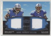 Mikel Leshoure, Titus Young /398