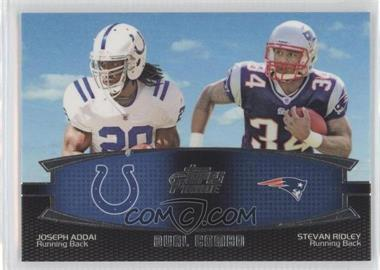 2011 Topps Prime - Dual Combo #DC-AR - Joseph Addai, Stevan Ridley