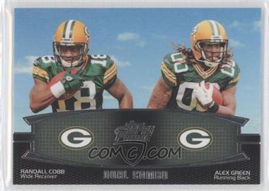 2011 Topps Prime - Dual Combo #DC-CG - Randall Cobb, Alex Green