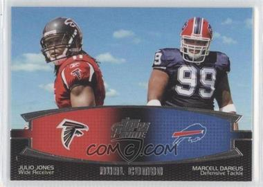 2011 Topps Prime - Dual Combo #DC-JD - Julio Jones, Marcell Dareus
