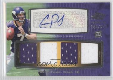 2011 Topps Prime - Level VI Autographed Relic #PVI-CP - Christian Ponder /515