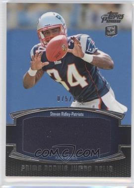 2011 Topps Prime - Prime Rookies - Jumbo Relics #PRJ-SR - Stevan Ridley /318
