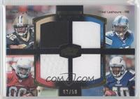 Mark Ingram, Ryan Williams, Jordan Todman #/50