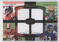 Julio Jones, Randall Cobb, Leonard Hankerson, Torrey Smith /50