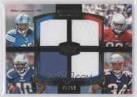 Mike Leach, Ryan Williams, Jordan Todman, Shane Vereen /50