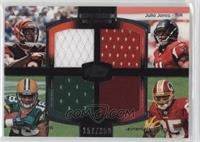 A.J. Green, Julio Jones, Randall Cobb, Leonard Hankerson /350