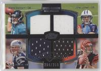 Blaine Gabbert, Jake Locker, Ryan Mallett, Andy Dalton /350