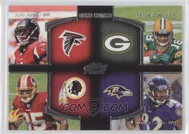 2011 Topps Prime - Quad Combo #QC-JCHS - Julio Jones, Randall Cobb, Torrey Smith, Leonard Hankerson