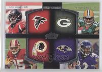 Julio Jones, Randall Cobb, Torrey Smith, Leonard Hankerson
