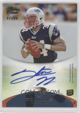 2011 Topps Prime - Rookie Autographs - Gold #114 - Stevan Ridley /50
