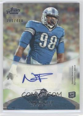 2011 Topps Prime - Rookie Autographs #21 - Nick Fairley /400
