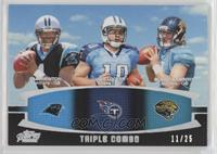 Cam Newton, Jake Locker, Blaine Gabbert /25