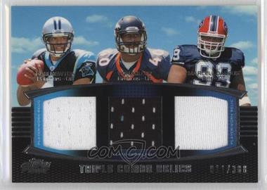 2011 Topps Prime - Triple Combo Relics #TCR-NMD - Cam Newton, Von Miller, Marcell Dareus /388