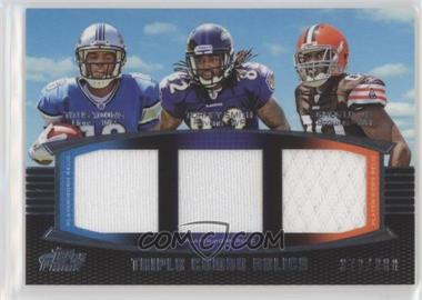 2011 Topps Prime - Triple Combo Relics #TCR-YSL - Titus Young, Torrey Smith, Greg Little /388