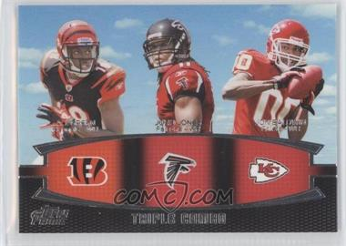 2011 Topps Prime - Triple Combo #TC-GJB - A.J. Green, Julio Jones