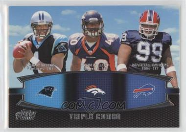2011 Topps Prime - Triple Combo #TC-NMD - Cam Newton, Von Miller, Marcell Dareus