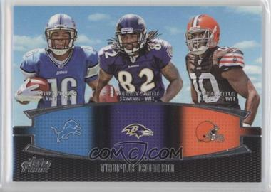 2011 Topps Prime - Triple Combo #TC-YSL - Titus Young, Torrey Smith, Greg Little