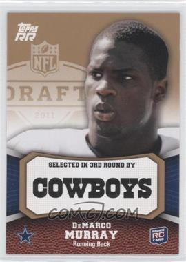2011 Topps Rising Rookies - [Base] - Gold #132 - DeMarco Murray
