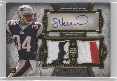 2011 Topps Supreme - Autographed Dual Relic - Platinum Patch #SADR-SV - Shane Vereen /5