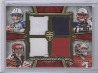 Colin Kaepernick, Jake Locker, Ryan Mallett, Andy Dalton #/10
