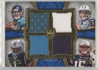 Blaine Gabbert, Jake Locker, Cam Newton, Ryan Mallett /25