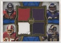 Julio Jones, Torrey Smith, Leonard Hankerson, Austin Pettis [Noted] #/25