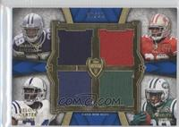 Delone Carter, DeMarco Murray, Bilal Powell, Kendall Hunter #/25