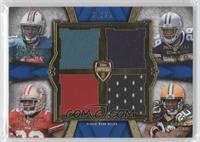 Daniel Thomas, DeMarco Murray, Kendall Hunter, Alex Green /25