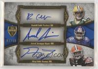 Randall Cobb, Jerrel Jernigan, Greg Little #/10