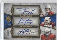 Kevin Kolb, Todd Heap, Ryan Williams #/10