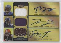 Titus Young, Torrey Smith, Greg Little /9