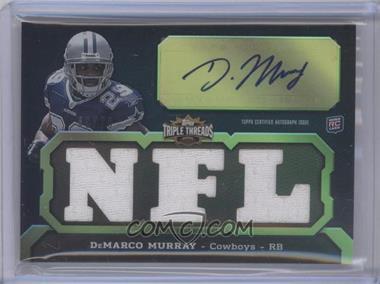 2011 Topps Triple Threads - [Base] - Emerald #134.2 - DeMarco Murray (NFL) /50