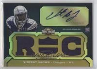 Vincent Brown (RC) #/25