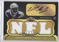 Vincent Brown (NFL) #/25