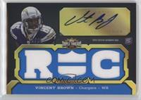 Vincent Brown (RC) #/99