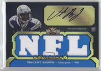 Vincent Brown (NFL) #/99