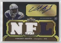 Vincent Brown (NFL) #/70