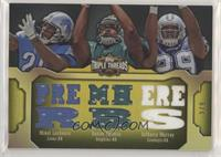 DeMarco Murray, Mikel Leshoure, Daniel Thomas #/9