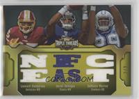 Leonard Hankerson, Jerrel Jernigan, DeMarco Murray #/9