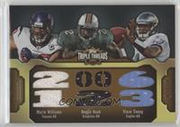 Reggie Bush, Vince Young, Mario Williams #/27