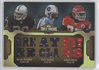 Darren McFadden, Chris Johnson, Jamaal Charles /27