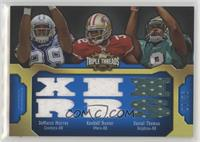 DeMarco Murray, Kendall Hunter, Daniel Thomas /36