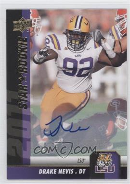 2011 Upper Deck - [Base] - Gold Autographs [Autographed] #118 - Drake Nevis